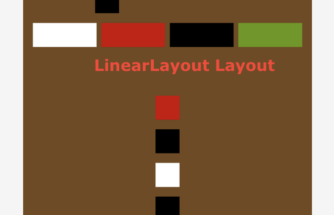 Difference in between LinearLayout and RelativeLayout