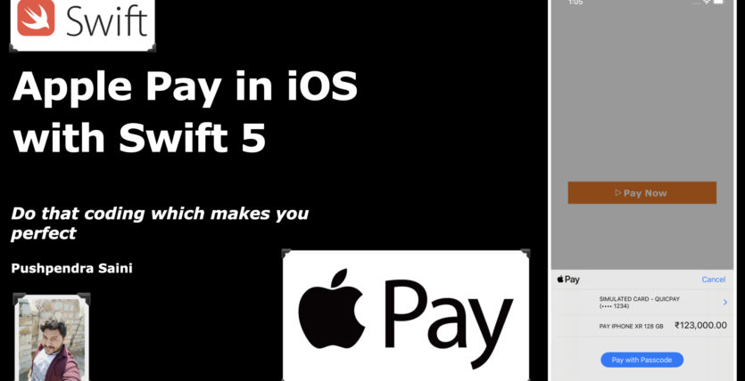How to integrate Apple Pay in iOS with swift 5
