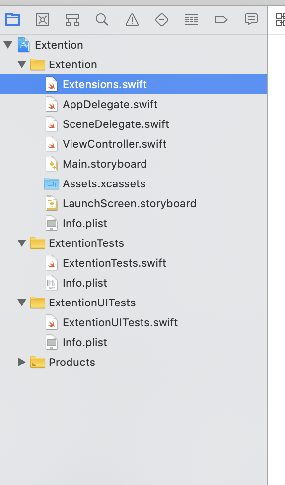 How to use extension in ios