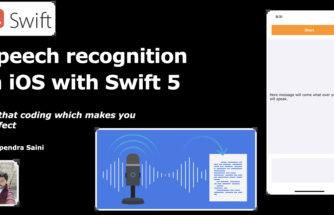 How to do speech recognition in iOS with swift 5