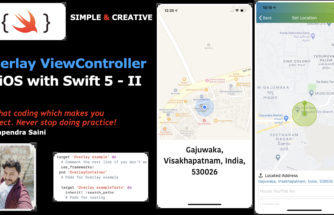 Overlay Controller in iOS with Swift 5 - II