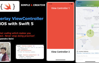 Overlay ViewController in iOS