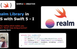 Realm Library in iOS with Swift 5 - I