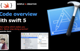 XCode overview with swift 5