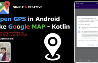 Open GPS in Android like Google MAP