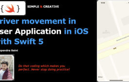 Driver movement in User Application in iOS with Swift 5