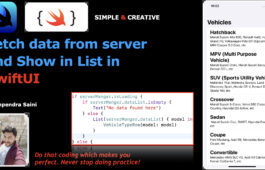 Fetch data from server and Show in List in Swift UI